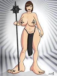 Solarized Trish Priestess by Trishbot