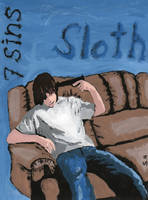 7 Deadly Sins- Sloth by We-all-sin