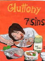 7  Deadly Sins- Gluttony by We-all-sin