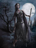 Zombie Witch by joeshawcross