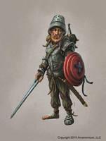 Tales of Acrana: Crazed knight by joeshawcross