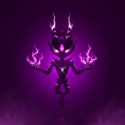 Electric demon  by BlackLynxLair