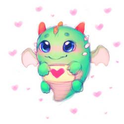 you are so cute! by BlackLynxLair