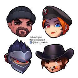 retribution team by BlackLynxLair