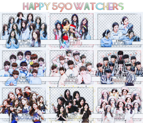/// Happy 590 watchers /// by Cold-Team