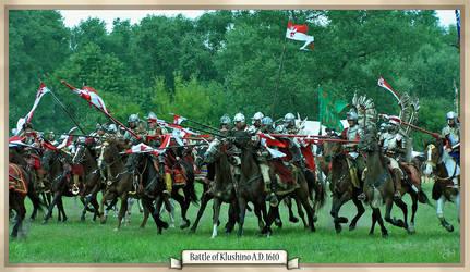 Hussars attack by Marqoni