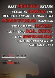 Pray for Indonesia by hack87