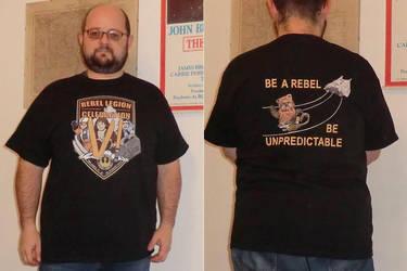 Rebel Legion at Star Wars C.VI - T-shirt  prototyp by locomotiva