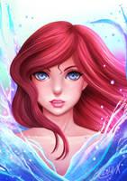 Ariel by Chr0n0-X