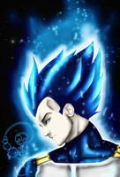 Vegeta - Super Saiyan Blue Maximo by MadBedlam