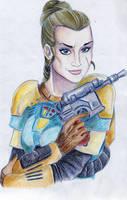 SWTOR: Catt the Bounty Hunter by Faefix