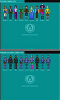 ATPOAD Characters Sprites by RoboCarlos