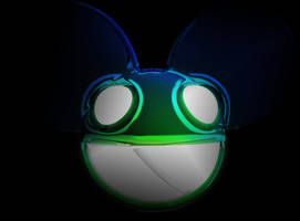 dead mau5 blue green by AIM2790