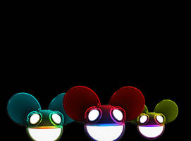dead mau5 crazy heads by AIM2790