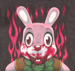 Robbie the Rabbit on icon by BOXICE