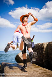 Portgas D Ace One Piece cosplay Althair (5) by AlthairLangley