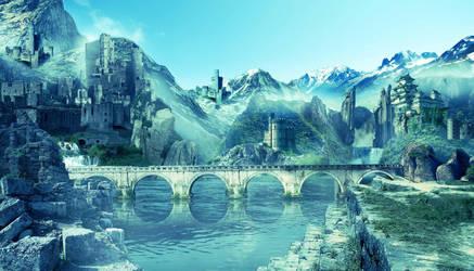 Valley of Castle by tilu91