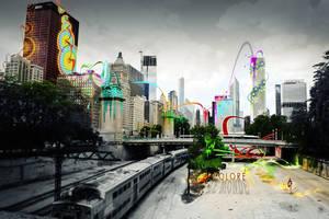 La musique colore le monde by Adisiat