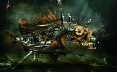BigSteamFish by Adisiat