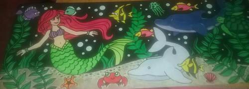 A Little Mermaid's Tale by ArtStudio101