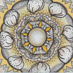Game of Thrones Baratheon Mandala by allysorge