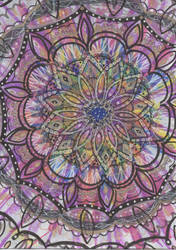 Bright Mandala by allysorge