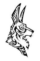 Anubis tattoo by Keaze