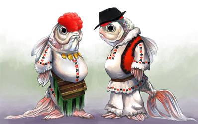 Folkfish by Keaze