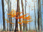 Last leaves by rougealizarine