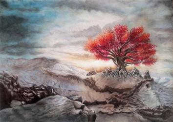 Weirwood by rougealizarine