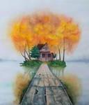 Lake house by rougealizarine
