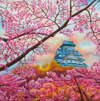 Spring in Osaka by rougealizarine