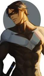 Nightwing52 by LKiKAi