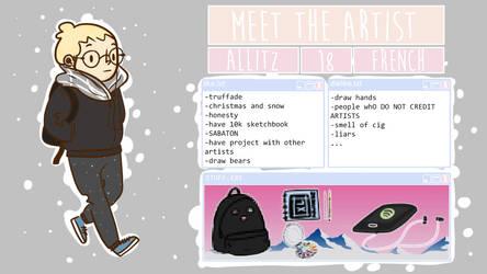 Meet The Artist by Allitz