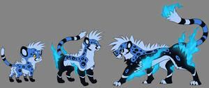 Shiny Mohawk Cheetahs by Dragara