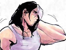 Shiro with long hair by Gobusawa