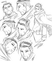 Golden Kamui Sketch 2 by Gobusawa
