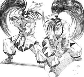 pencil drawing  by Gobusawa