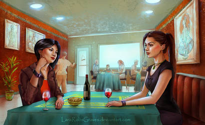 Commission: Acquaintances by LaraRobsGraves