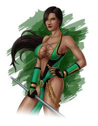 Mortal Kombat 9 - Jade by Stegoceras