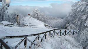 Winter Scenery by Andrei-Azanfirei