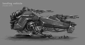 Landing Vehicle by joeydee-artworks