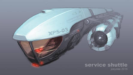 Service Shuttle by joeydee-artworks
