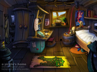 Pirate Home by joeydee-artworks