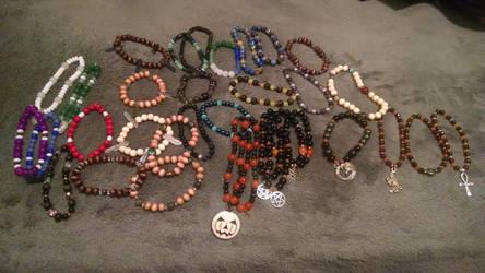An Abundance of Beads by salaiek