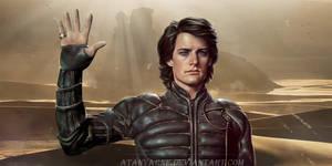 Paul Atreides. Dune. by AtanvarneArt