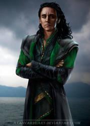 Loki by AtanvarneArt