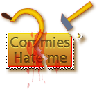 Stamp  -  Commies Hate Me by fmr0