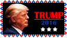 Stamp - Trump 2016 by fmr0