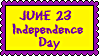 Stamp - Independence Day by fmr0